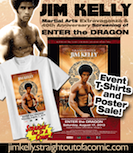 Jim Kelly Tshirts and Posters